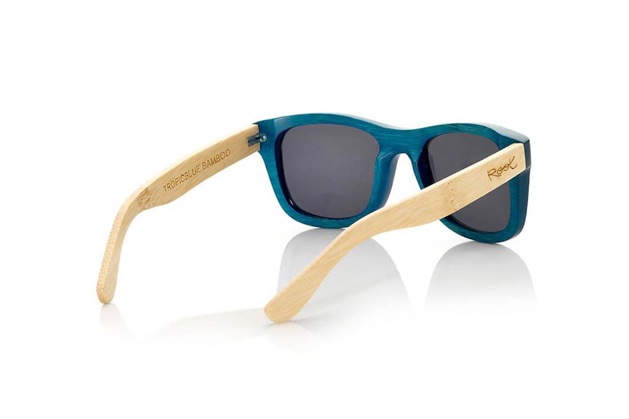 Gafas de Madera Natural de Bambú TROPICBLUE S | Root Sunglasses®