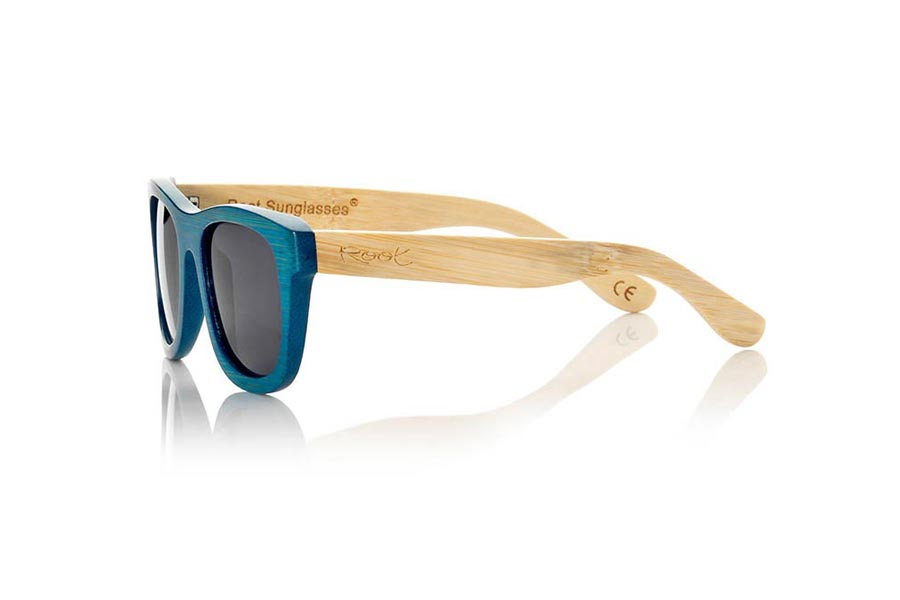 Wood eyewear of Bamboo TROPICBLUE S | Root Sunglasses®