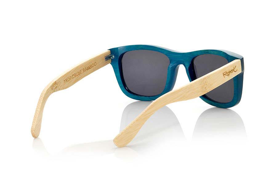 Wood eyewear of Bamboo TROPICBLUE | Root Sunglasses ®
