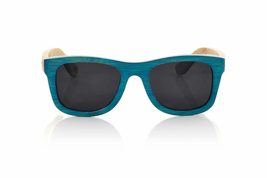 Wood eyewear of Bamboo TROPICBLUE | Root Sunglasses®