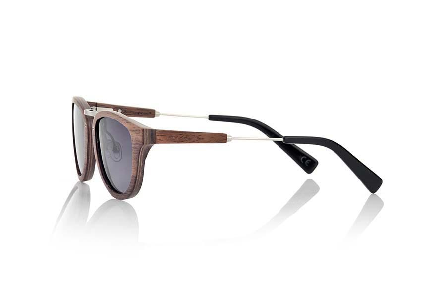 Gafas de Madera Natural de Nogal Negro KUSH | Root Sunglasses®