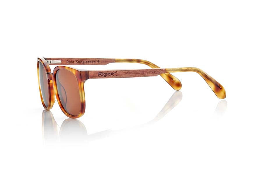 Wood eyewear of Black Walnut modelo ETNA | Root Sunglasses®