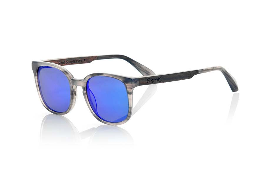 Wood eyewear of Ebony modelo TEIDE | Root Sunglasses®