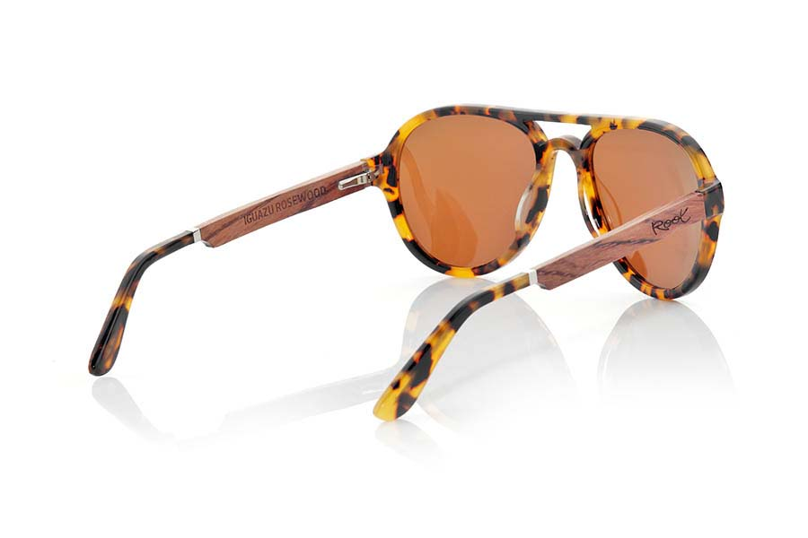 Wood eyewear of Ebony IGUAZU | Root Sunglasses®