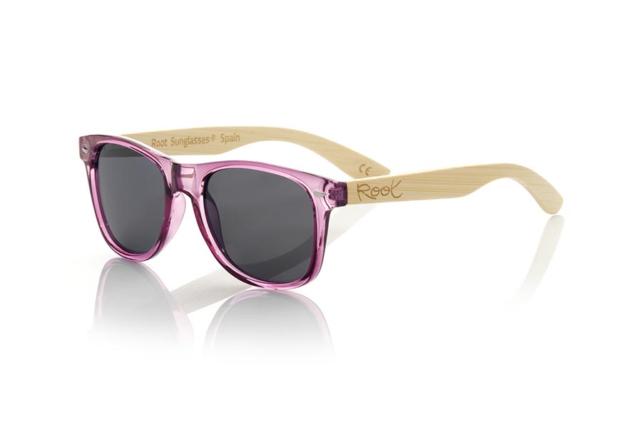 Gafas de Madera Natural de  modelo CANDY PUR | Root Sunglasses®