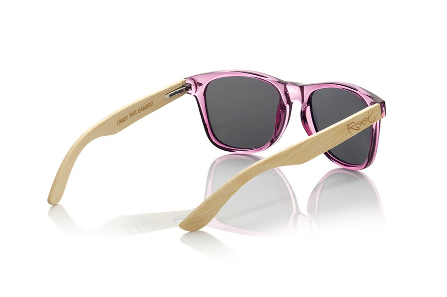 Wood eyewear of  CANDY PUR | Root Sunglasses®