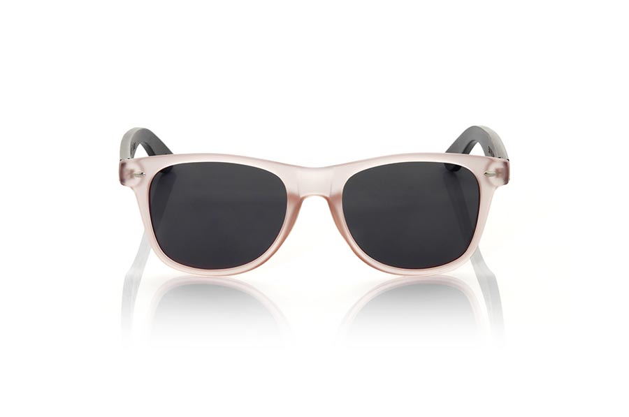 Wood eyewear of Bambú SUN PINK MX | Root Sunglasses®