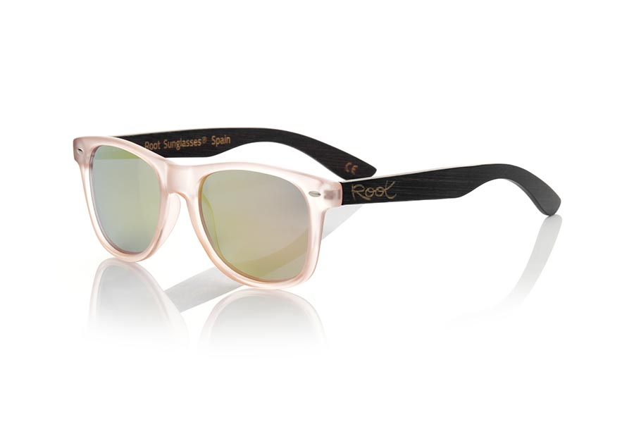 Wood eyewear of Bambú modelo SUN PINK MX | Root Sunglasses®