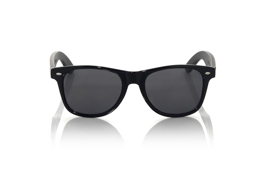Gafas de Madera Natural de Bambú SKA BLACK.   |  Root Sunglasses®