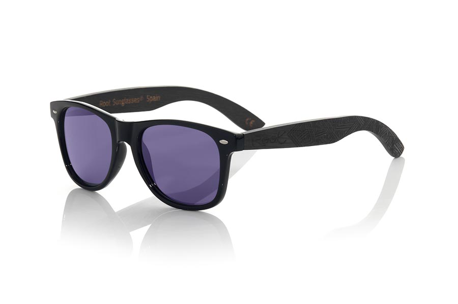 Wood eyewear of Bambú modelo SKA BLACK | Root Sunglasses®