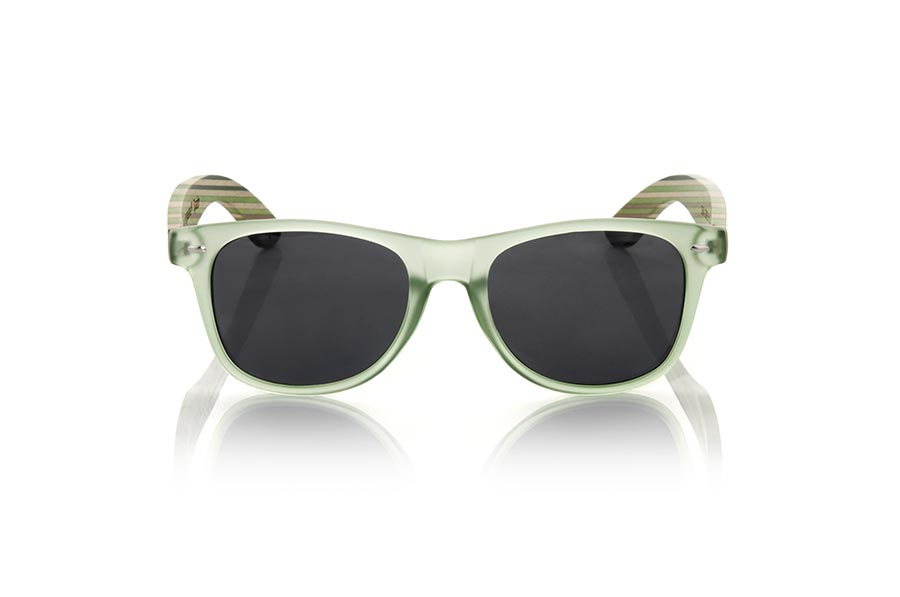 Gafas de Madera Natural de Bambú SKA GREEN | Root Sunglasses®