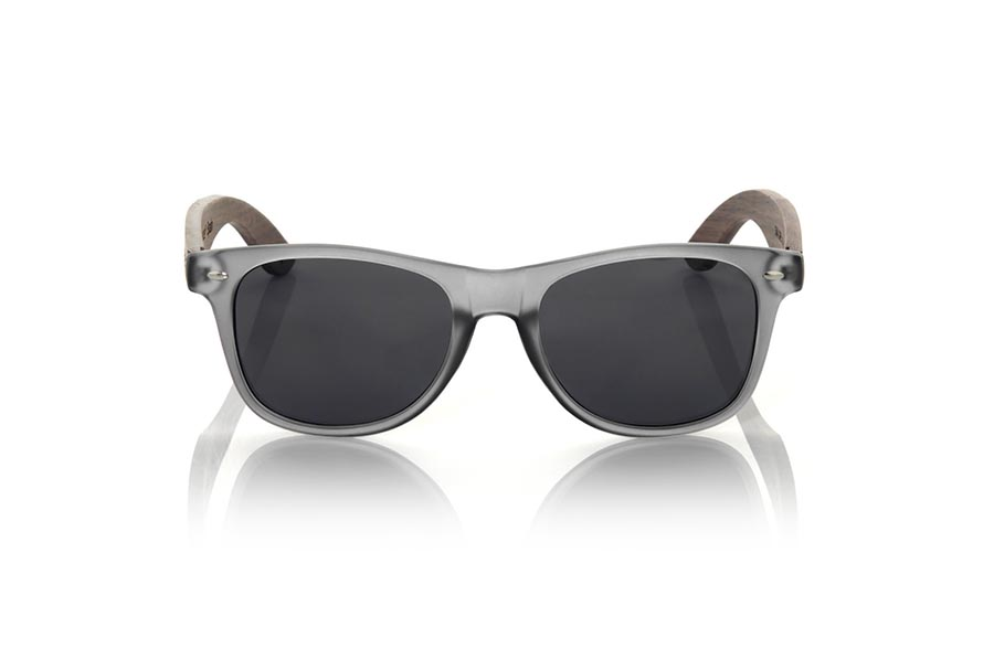 Gafas de Madera Natural de Walnut SKA GREY.   |  Root Sunglasses®