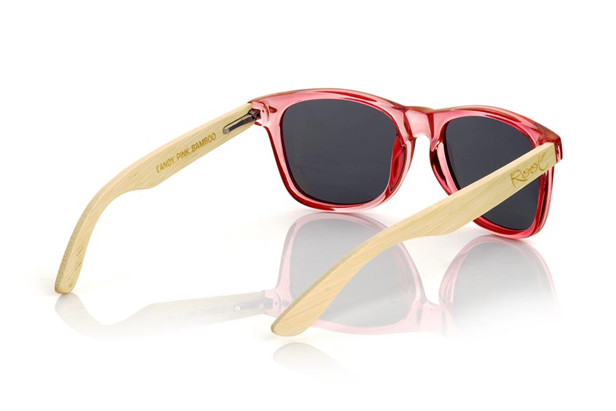 Wood eyewear of Bambú CANDY PINK DS.   |  Root Sunglasses®