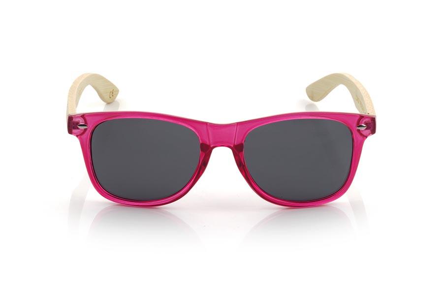 Gafas de Madera Natural de Bambú CANDY RED DS.   |  Root Sunglasses®