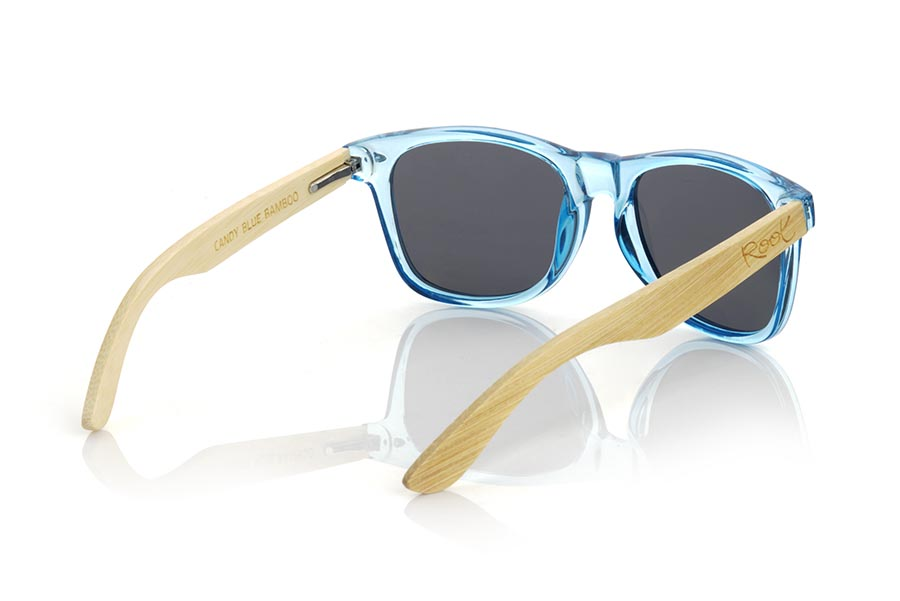 Wood eyewear of Bambú CANDY BLUE DS.   |  Root Sunglasses®