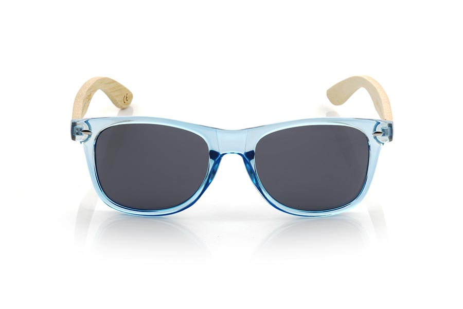 Wood eyewear of Bambú modelo CANDY BLUE DS | Root Sunglasses®