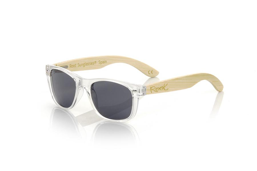 Wood eyewear of Bambú modelo KID W TR | Root Sunglasses®