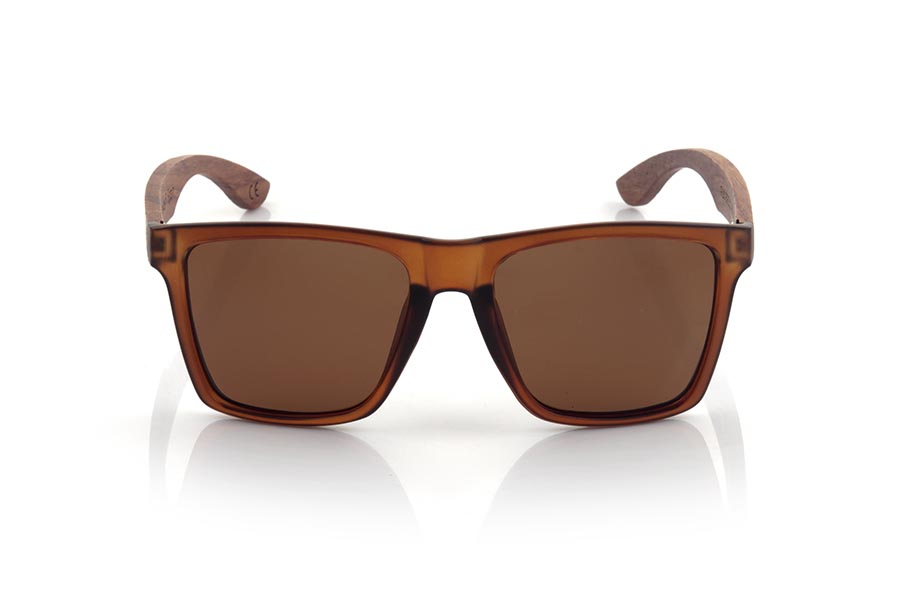 Wood eyewear of rosewood modelo RUN BROWN DS | Root Sunglasses®