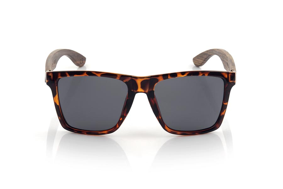 Wood eyewear of zebra modelo RUN CAREY DS | Root Sunglasses®