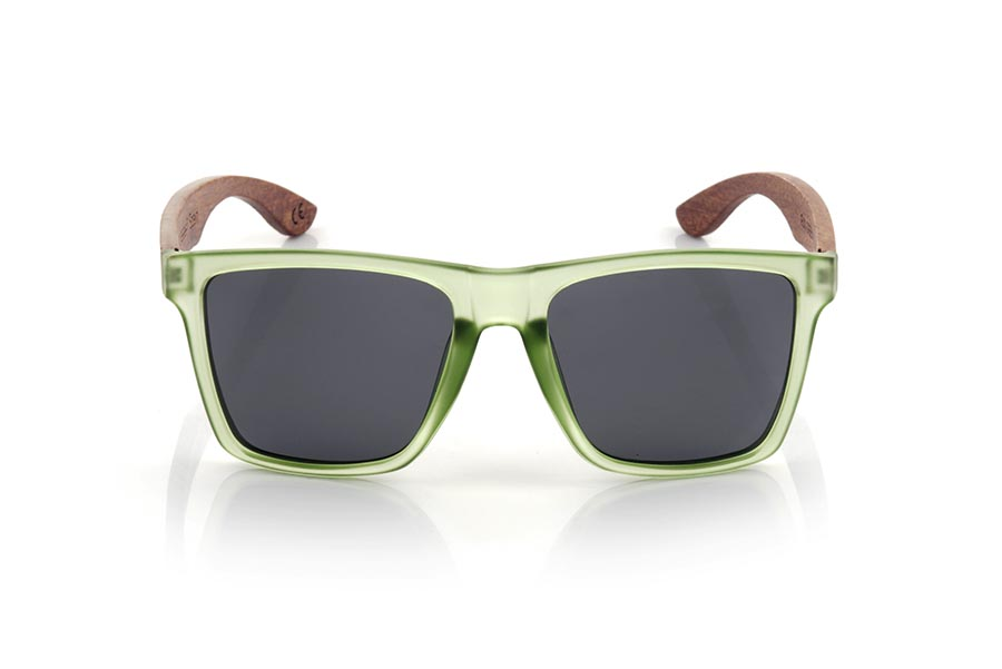Gafas de Madera Natural de rosewood modelo RUN GREEN DS | Root Sunglasses®