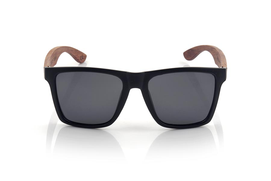 Wood eyewear of rosewood modelo RUN BLACK DS | Root Sunglasses®