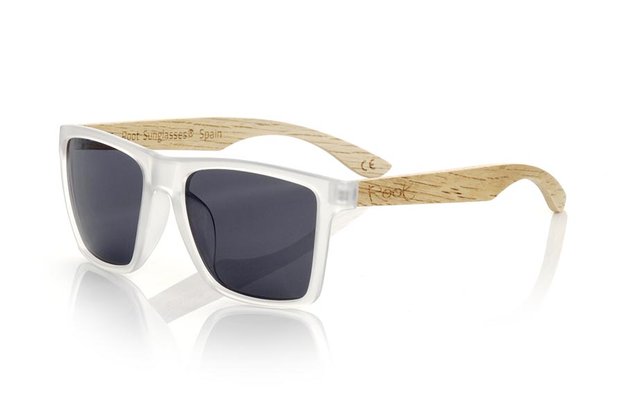 Wood eyewear of zebra modelo RUN TR DS | Root Sunglasses®