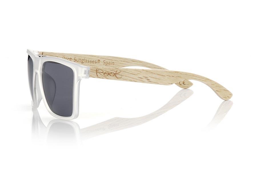 Wood eyewear of zebra RUN TR DS.      Root Sunglasses®