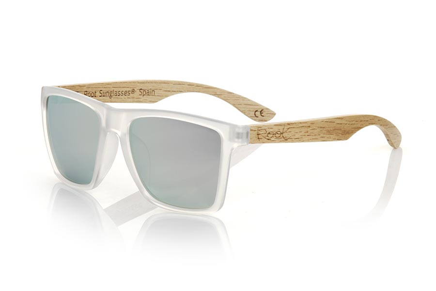 Gafas de Madera Natural de zebra modelo RUN TR DS | Root Sunglasses®