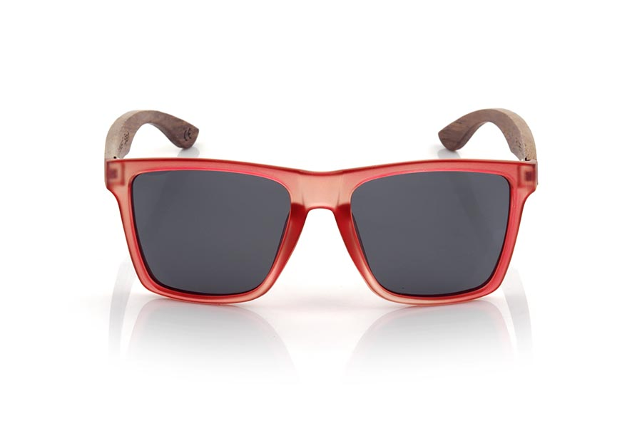 Wood eyewear of rosewood modelo RUN RED DS | Root Sunglasses®