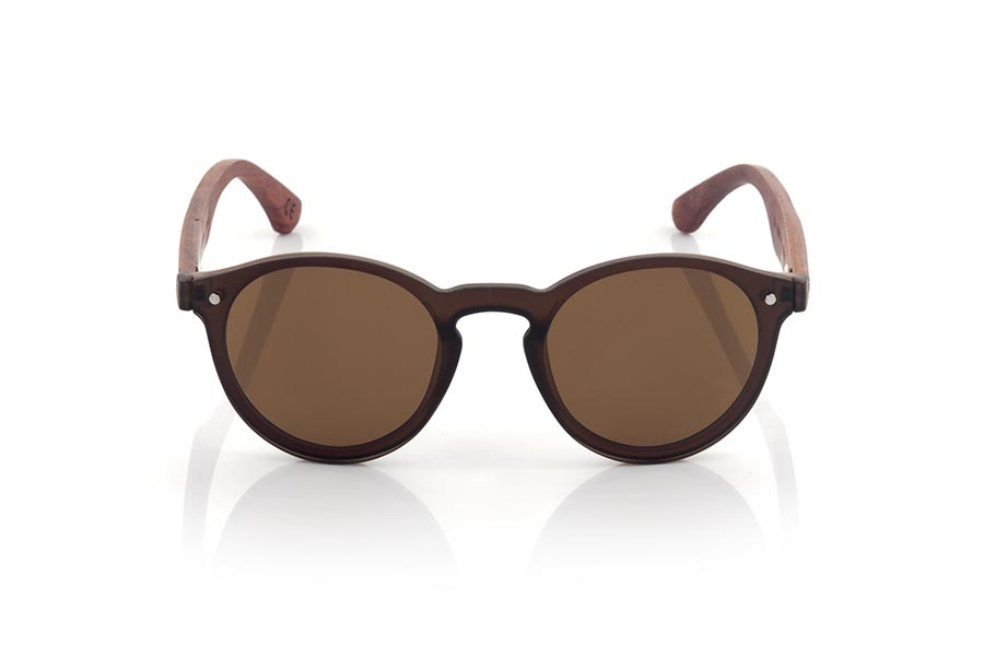 Wood eyewear of Rosewood SUN BROWN.   |  Root Sunglasses®