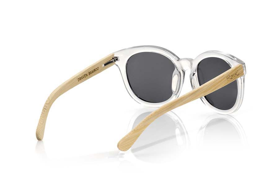 Wood eyewear of Bamboo DRAVEN.   |  Root Sunglasses®