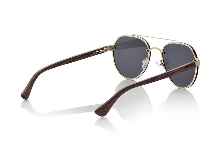 Gafas de Madera Natural de Walnut MISURI | Root Sunglasses®