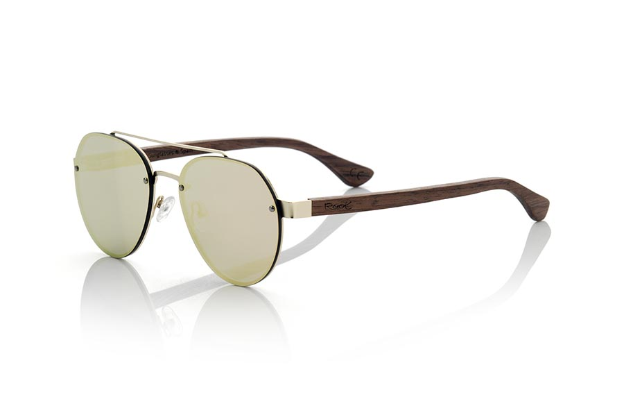 Wood eyewear of Walnut modelo MISURI | Root Sunglasses®