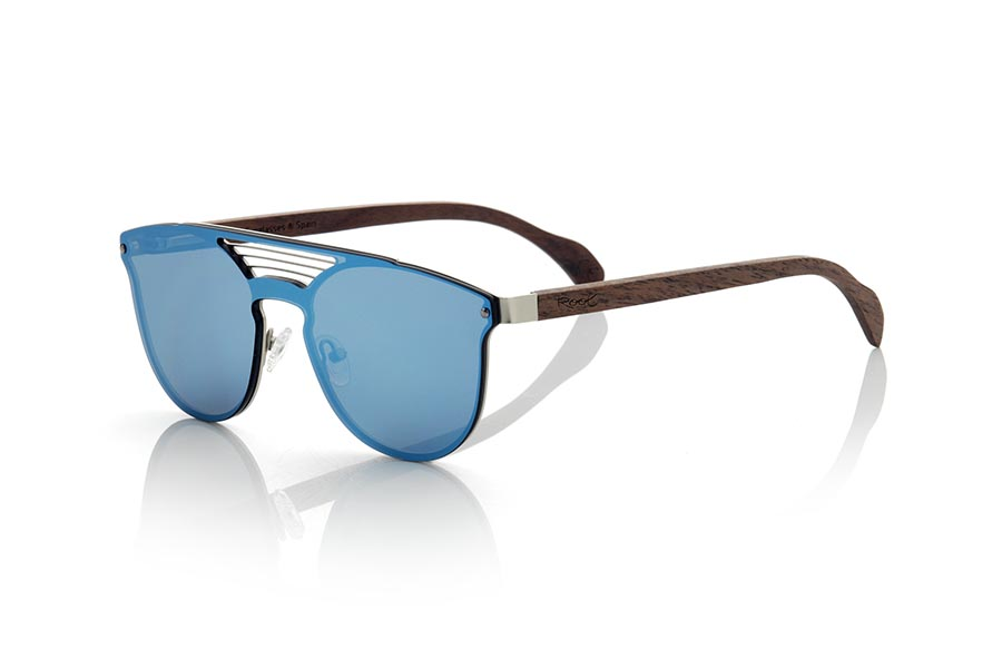 Wood eyewear of Walnut modelo IRTISH | Root Sunglasses®
