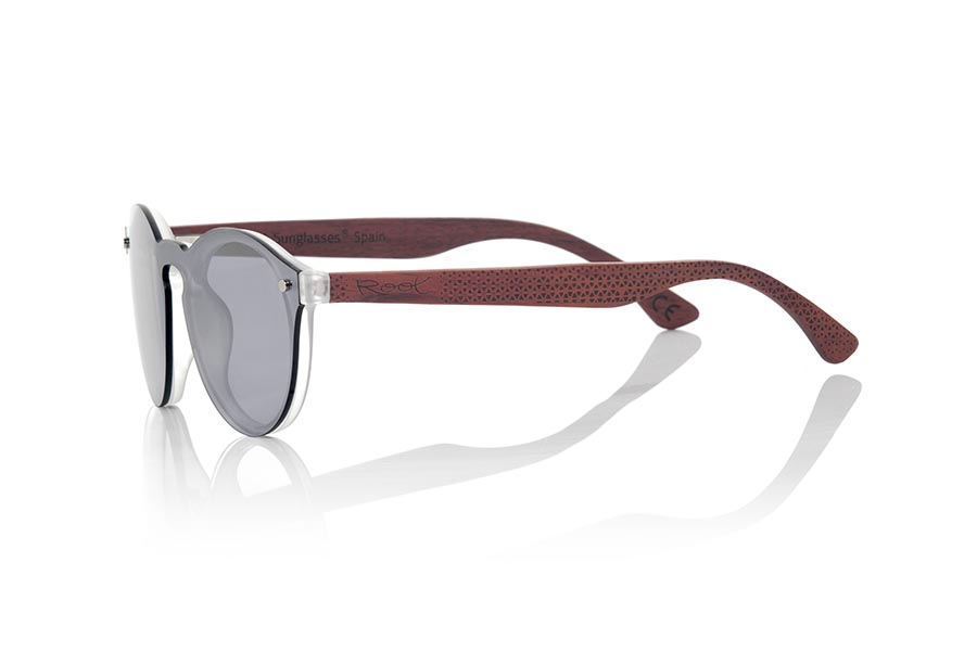 Wood eyewear of Duwood SUN SILVER.   |  Root Sunglasses®