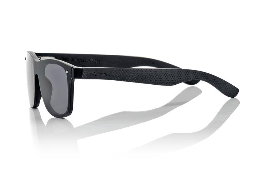 Wood eyewear of Skateboard SKY GREY | Root Sunglasses®