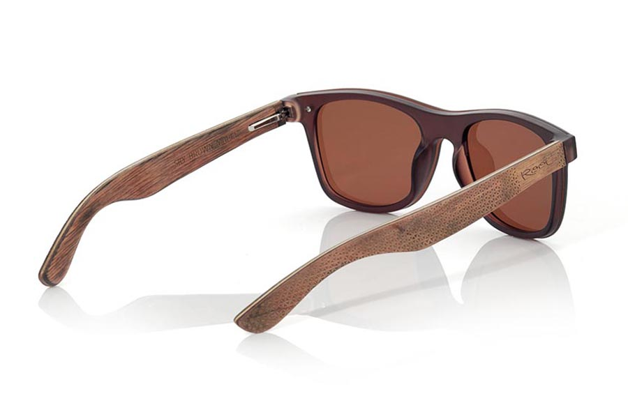 Gafas de Madera Natural de  SKY BROWN | Root Sunglasses®