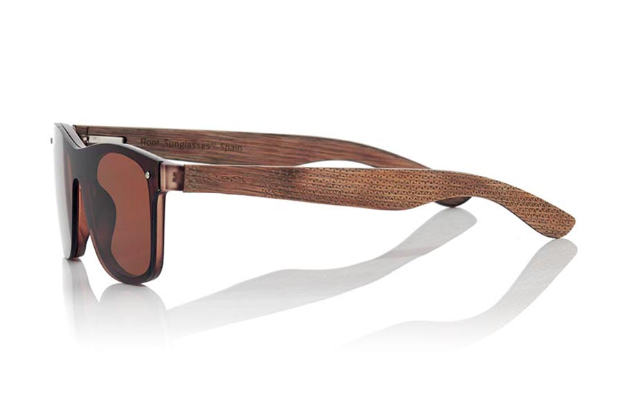 Wood eyewear of  SKY BROWN | Root Sunglasses®