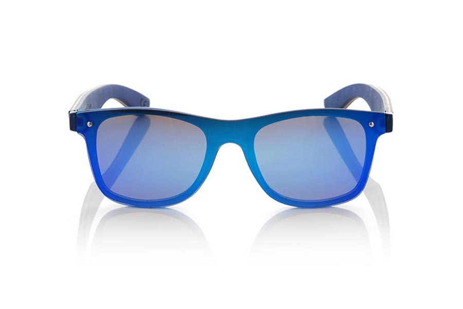 Wood eyewear of Skateboard modelo SKY BLUE | Root Sunglasses®