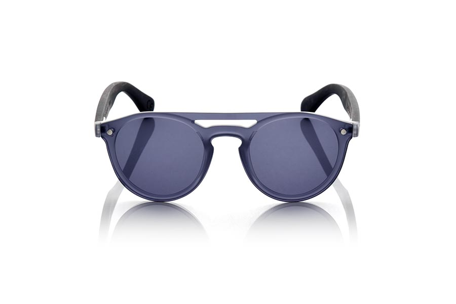 Gafas de Madera Natural de Ébano SAMBA GREY.   |  Root Sunglasses®