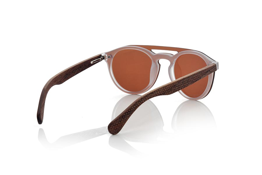 Wood eyewear of Bamboo modelo SAMBA BROWN | Root Sunglasses®