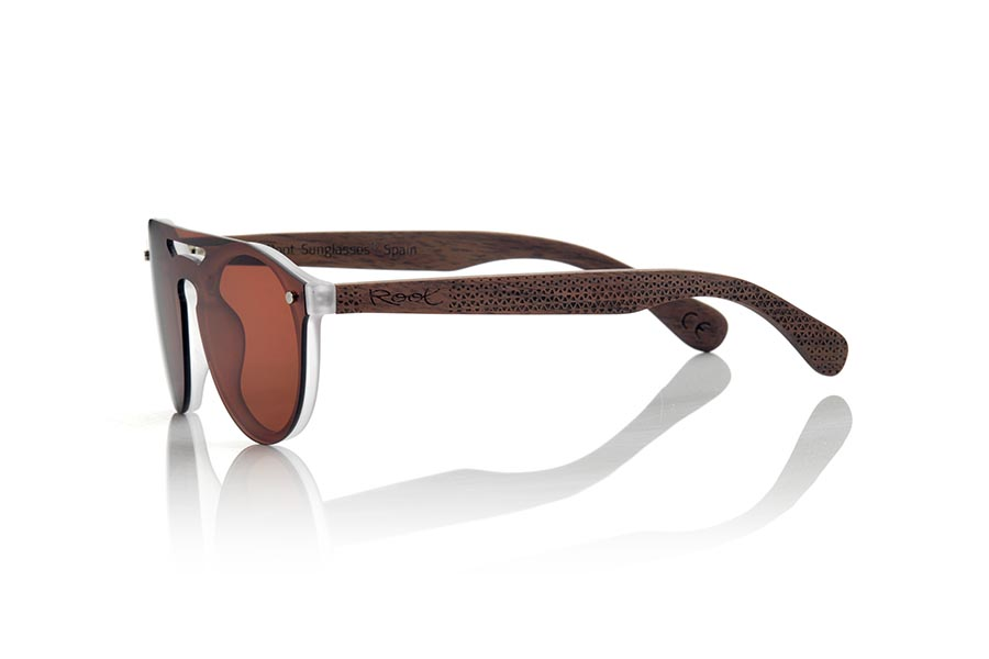 Gafas de Madera Natural de Bambú modelo SAMBA BROWN | Root Sunglasses®