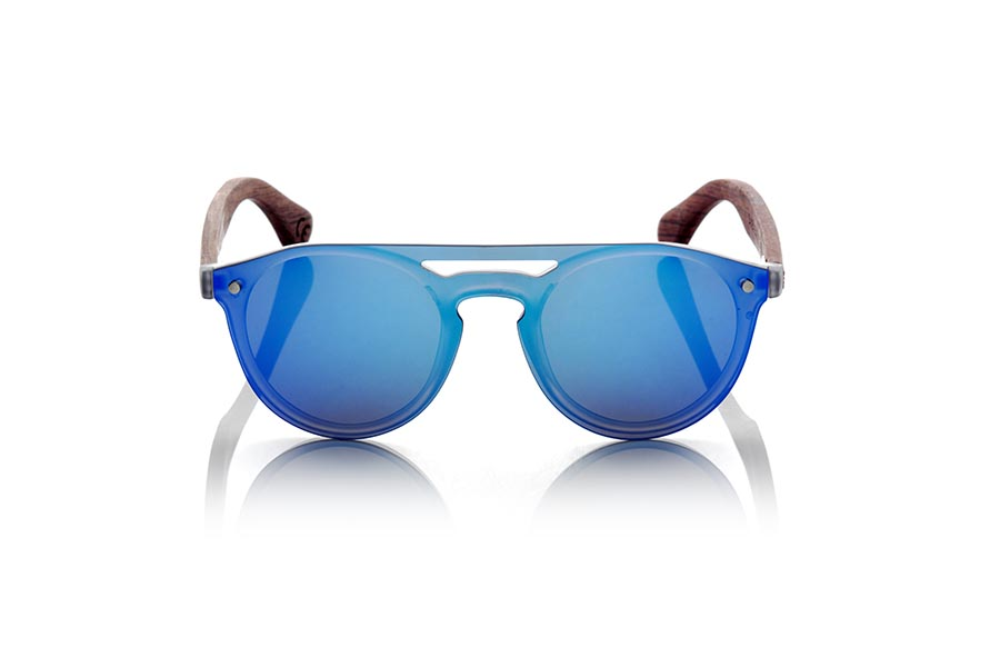 Wood eyewear of ROSEWOOD SAMBA BLUE | Root Sunglasses®
