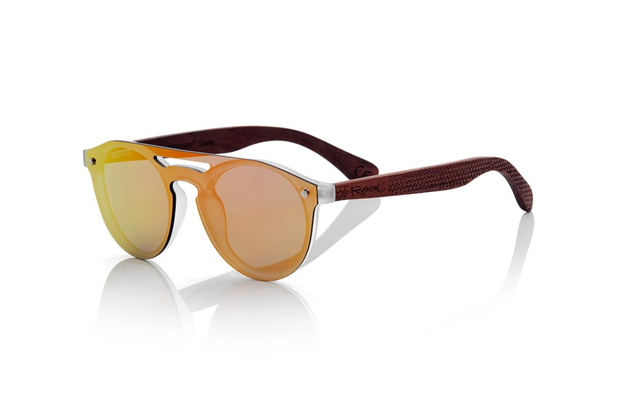 Wood eyewear of ROSEWOOD SAMBA RED | Root Sunglasses®