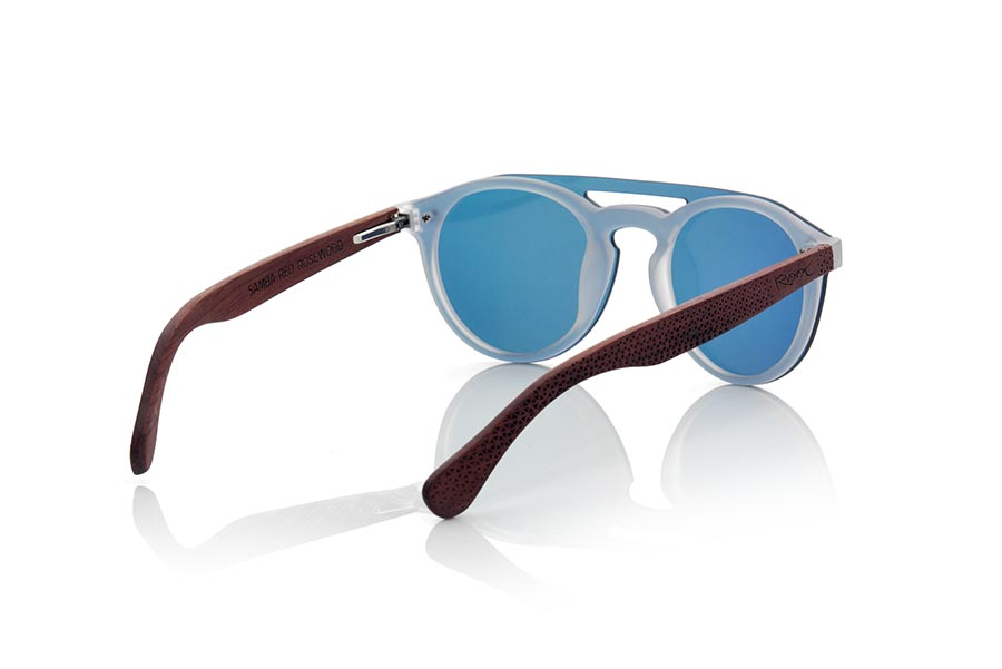 Gafas de Madera Natural de ROSEWOOD modelo SAMBA RED | Root Sunglasses®