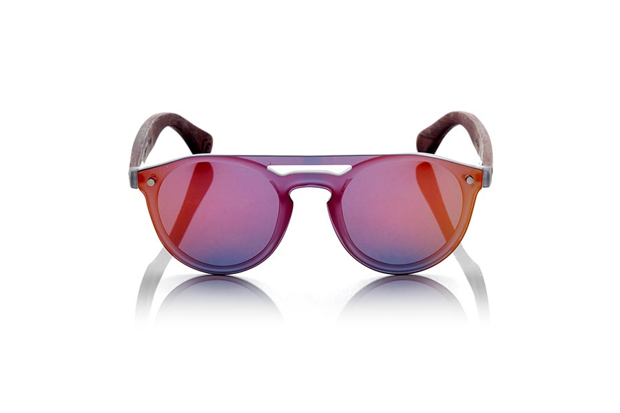Wood eyewear of ROSEWOOD modelo SAMBA RED | Root Sunglasses®