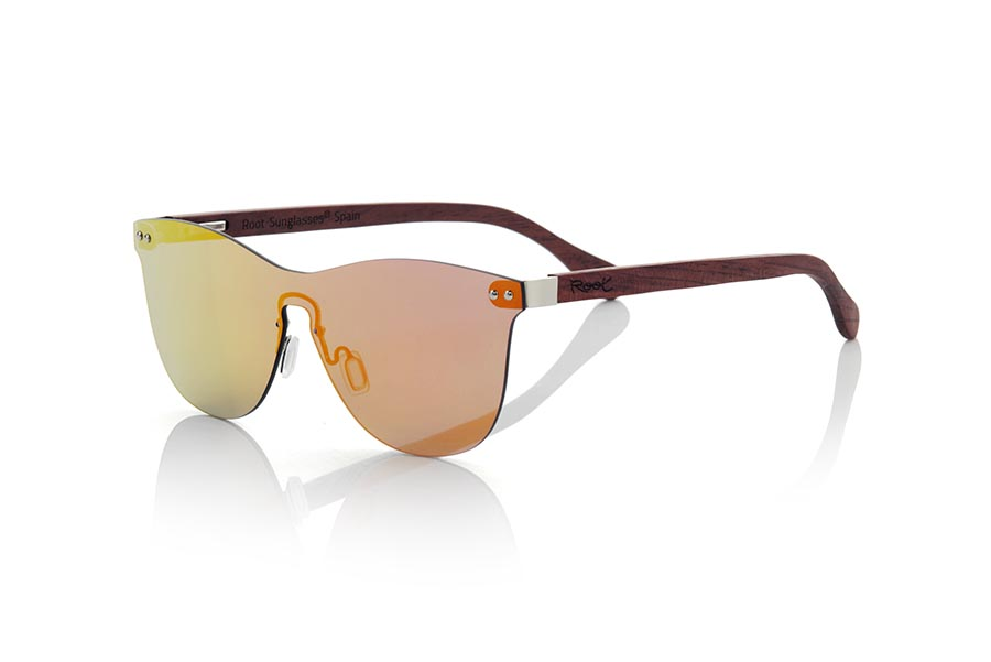 Gafas de Madera Natural de ROSEWOOD modelo SUNSET ROS | Root Sunglasses®