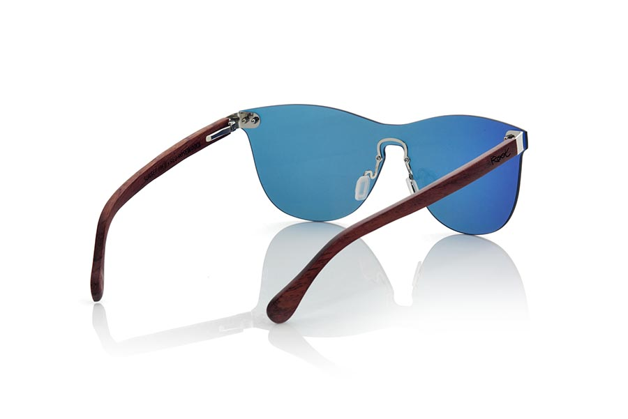 Gafas de Madera Natural de ROSEWOOD SUNSET ROS.   |  Root Sunglasses®