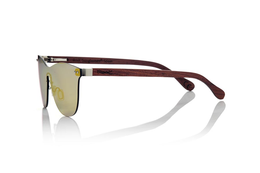 Wood eyewear of ROSEWOOD SUNSET ROS | Root Sunglasses®