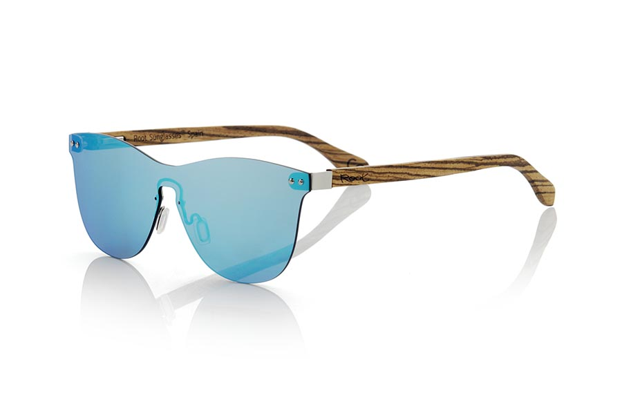Gafas de Madera Natural de Zebrano SUNSET ZEB | Root Sunglasses®